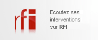 Ecoutez son intervention sur RFI